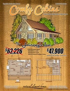 The Journey's Inn | Big Little Log Cabin Sale | Natural Element Homes