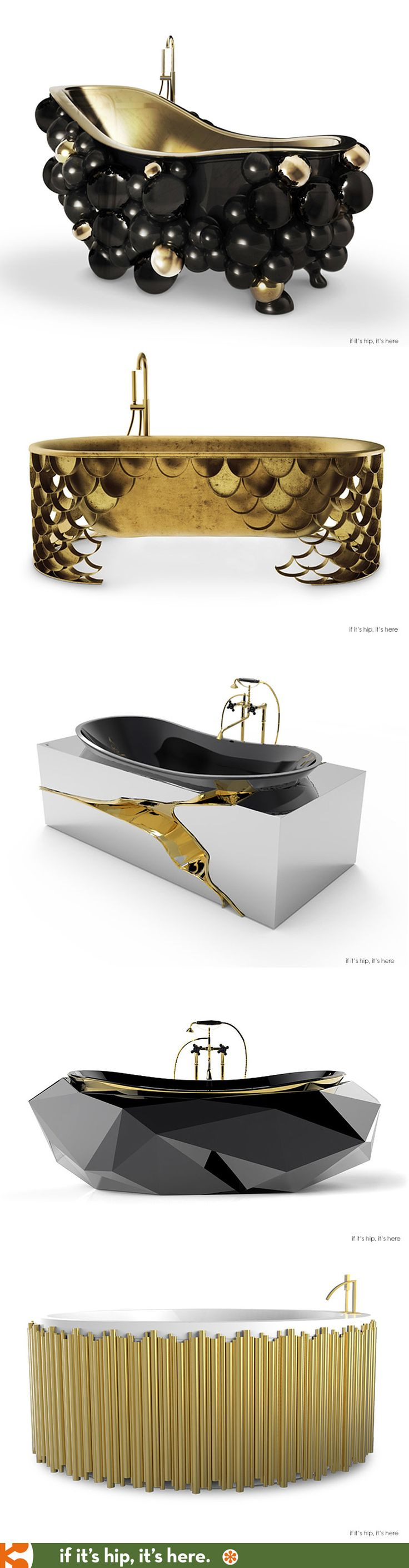 Five outrageously obnoxious luxury tubs from Maison Valentina | http://www.ifitshipitshere.com/bathtubs-from-maison-valentina/