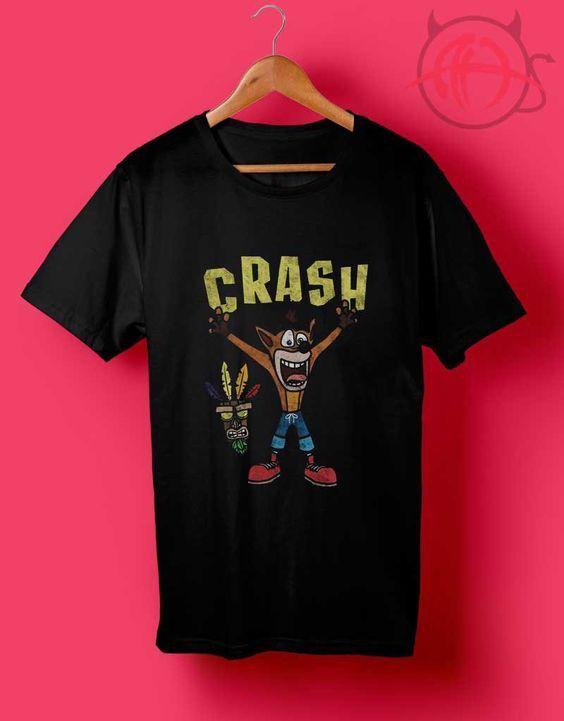 Crash Bandicoot Games T Shirt //Price: $14.50