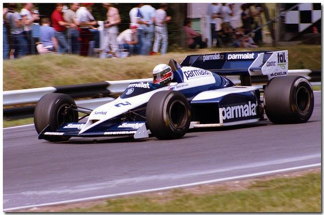 Corrado Fabi Brabham BMW BT53 F1. 1984 British GP Brands Hatch