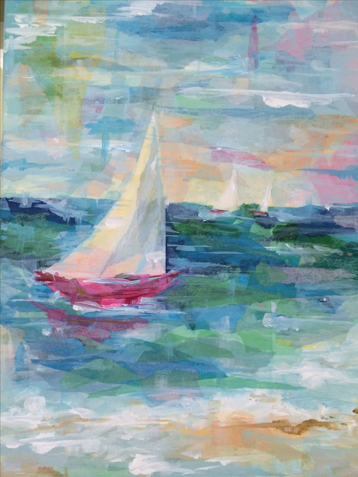 Best 25 Sailboat Painting Ideas On Pinterest Paint