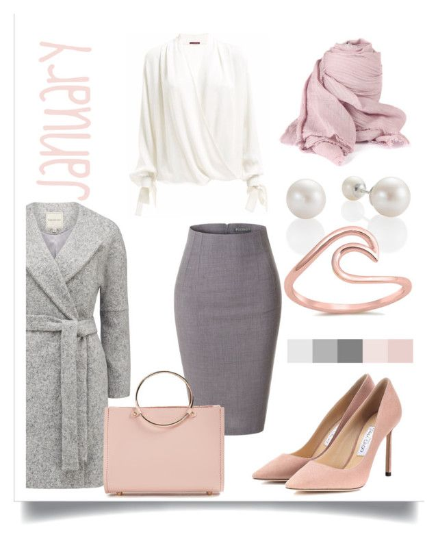 january by levai-magdolna on Polyvore featuring LE3NO, Jimmy Choo and Future Glory Co.