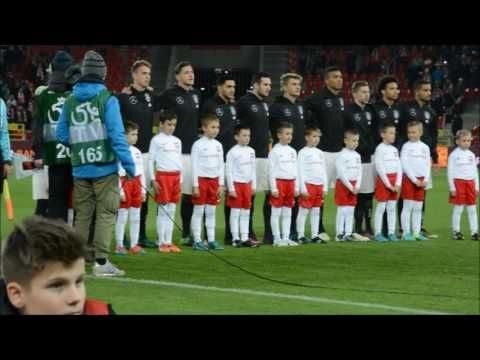 U21: Poland - Germany [Anthem]. 2016-11-15