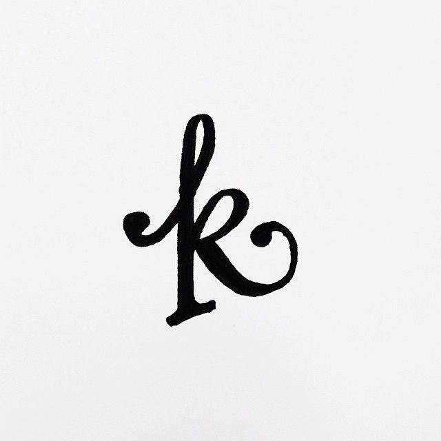 K by Daily Letterings