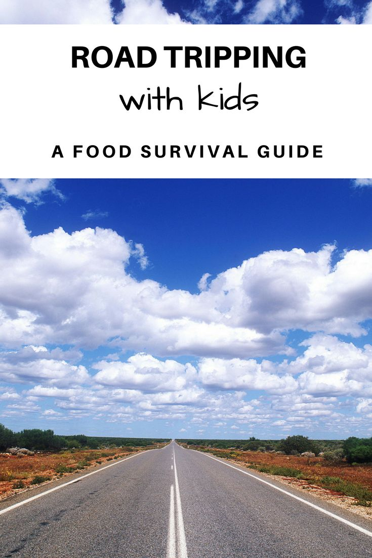 Road tripping with kids | Food for road trips | Car trips with kids | Food for car trips with kids | Food survival guide for long car rides | ourguidetotheeveryday.com