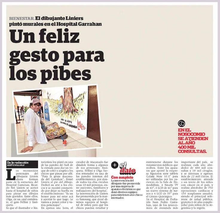 Muralismo - Notas periodisticas https://www.facebook.com/murales.buenosaires  Diario Cronica 06/04/14