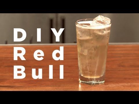How to Make Your Own Red Bull Energy Drink at Home—Minus All of the Chemicals « Beverages :: WonderHowTo
