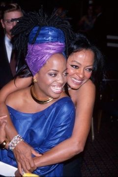 Rhonda Ross Kendrick and her mother, Diana Ross
