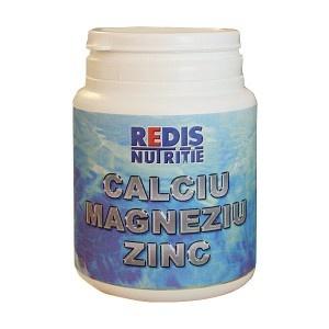 Calciu, Magneziu, Zinc - o cutie contine 120 capsule.