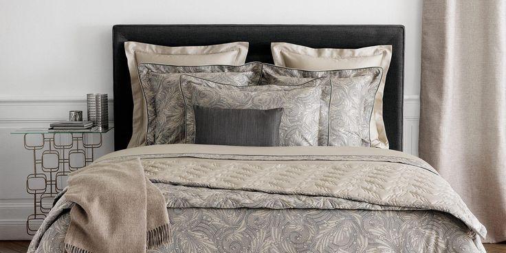 1000 id es sur le th me yves delorme sur pinterest parure de lit lit haut et drap. Black Bedroom Furniture Sets. Home Design Ideas