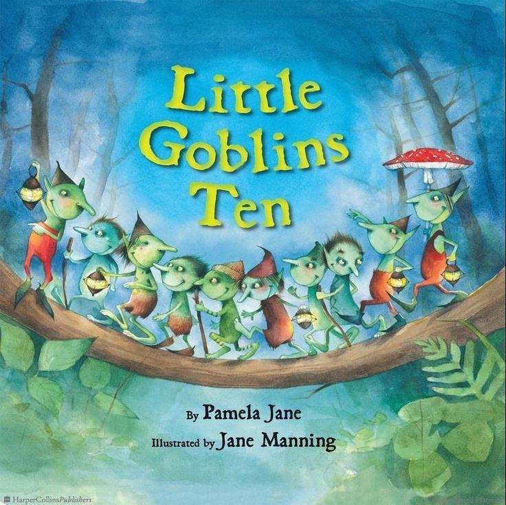 Browse Inside Little Goblins Ten by Pamela Jane