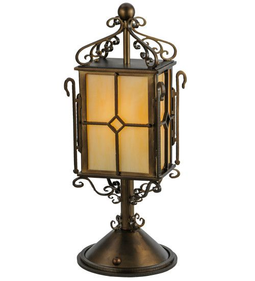 "19""H Standford Victorian Tabletop Lantern"