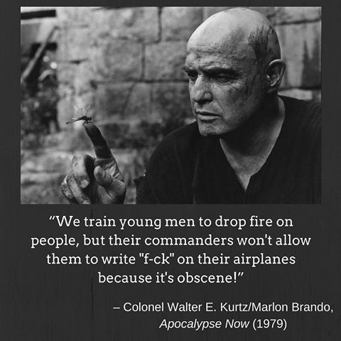 apocalypse now marlon brandon moviequotes words quotes movie posters picture gifs. Black Bedroom Furniture Sets. Home Design Ideas