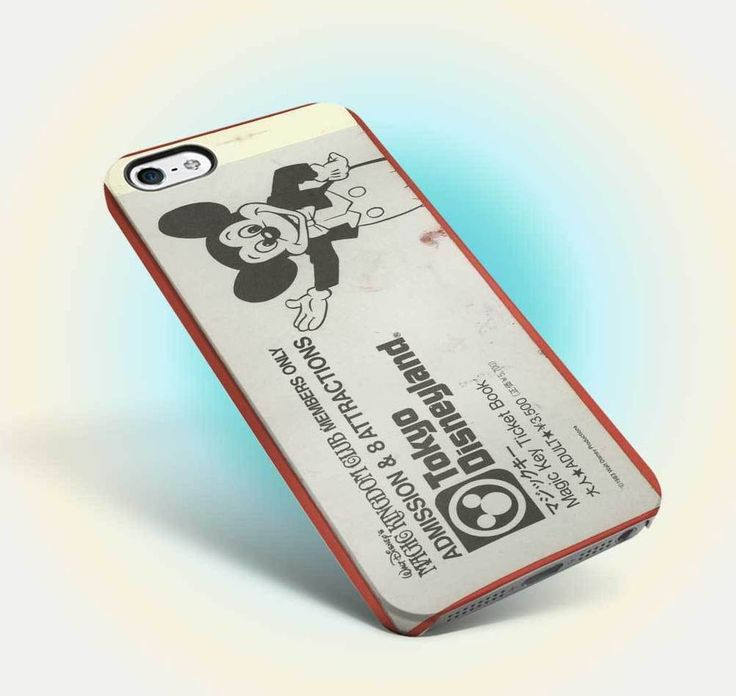 disneyland ticket vintage castle design iphone case apple 6 6s old oldies 10 #UnbrandedGeneric