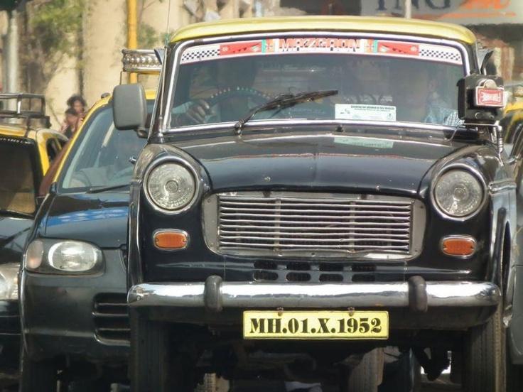India, Mumbay, Taxi driver