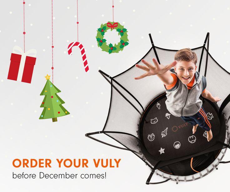 EEEK - not long until Christmas now! #vulytrampolines www.trampolinedeals.com.au