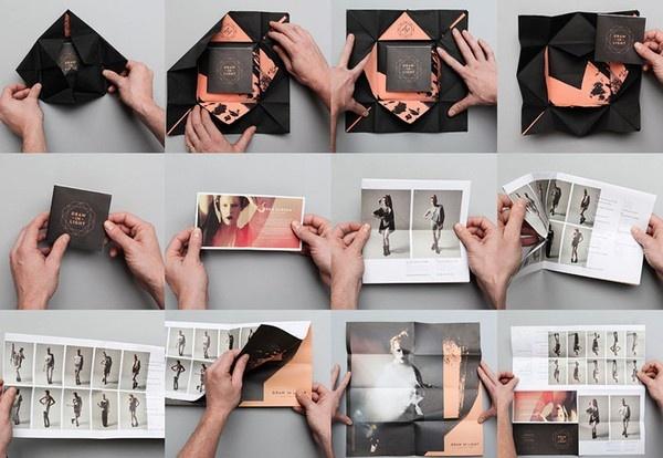 lookbook print-design-layout