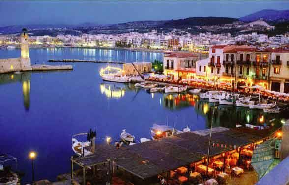 The Old Venetian Harbour or Rethymno, Crete. https://www.facebook.com/SentidoPearlBeach/photos/pb.183158851731783.-2207520000.1446482832./874464079267920/?type=3