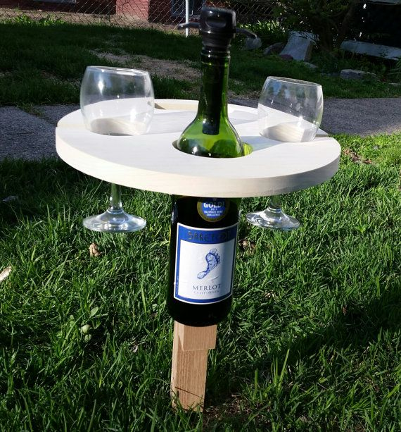 Wine Picnic Table Wine Table Picnic Wine RackWine4th of