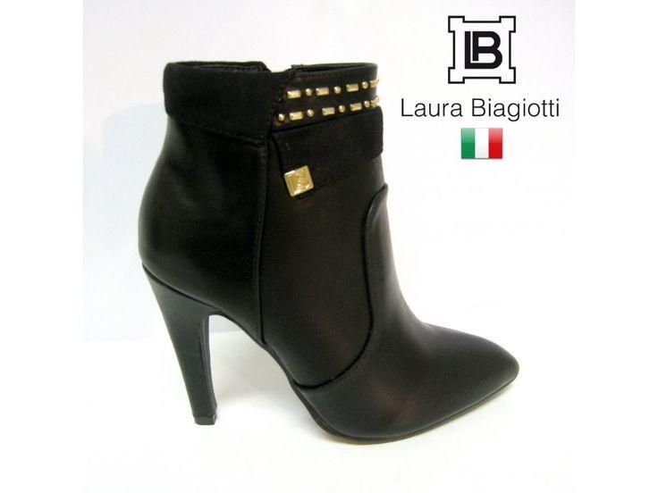 KOTNÍKOVÁ OBUV NA VYSOKÉM PODPATKU LAURA BIAGIOTTI   Podzimně-zimní dámská kotníková obuv. #italskamoda #damskaobuv #italskaobuv #kotnikovaobuv #laurabiagiotti #vysokypodpatek