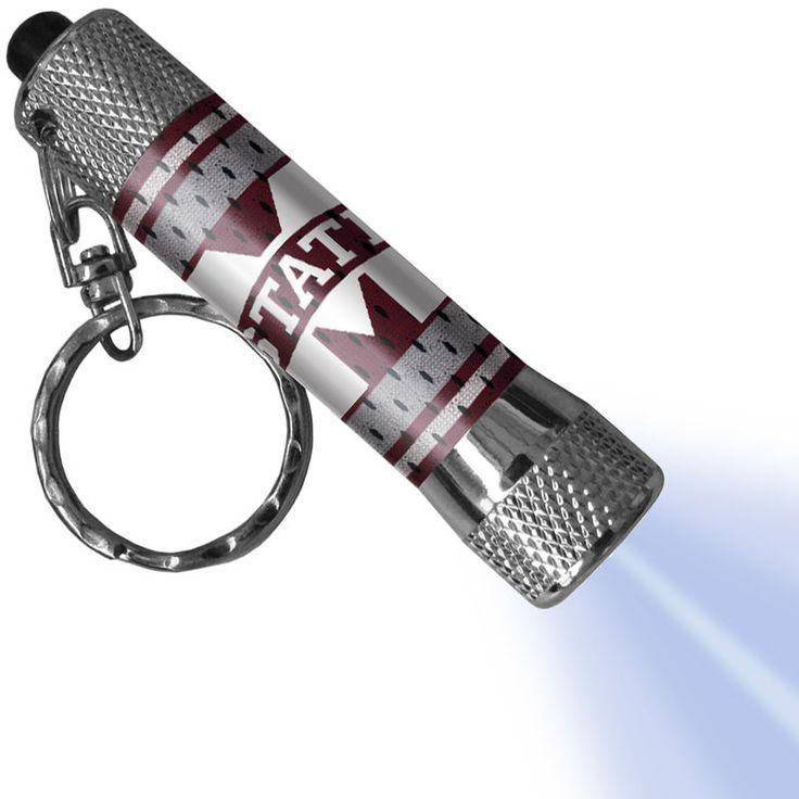 Mississippi State Bulldogs LED Flashlight Jersey Keychain