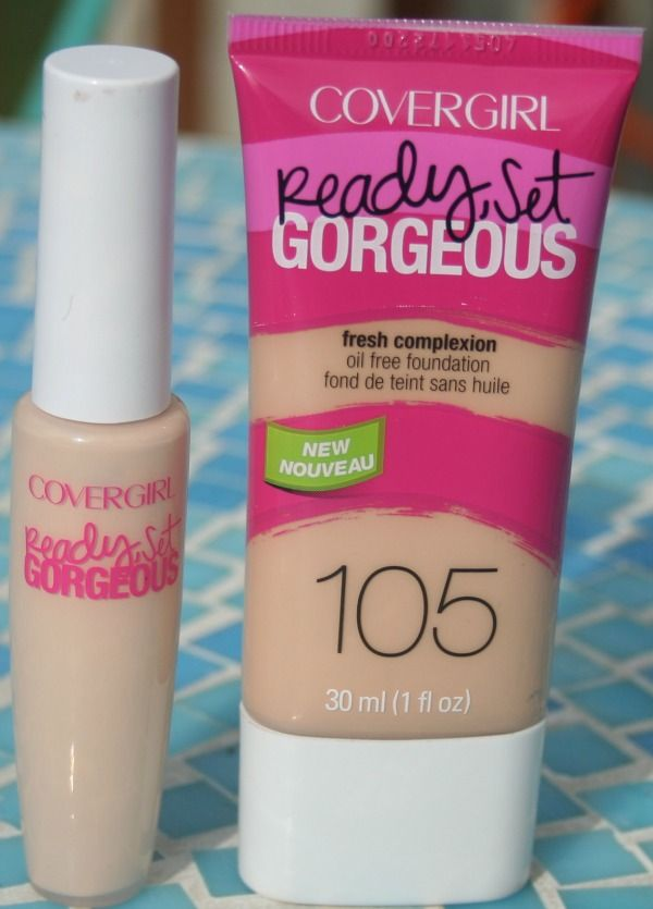 Covergirl Ready,Set Gorgeous foundation and concealer review!