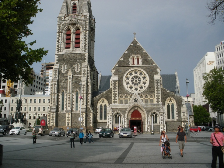 Christchurch Cathedral - prior to 2012