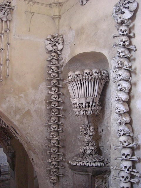 Kutna Hora Bone Church, Czech Republic