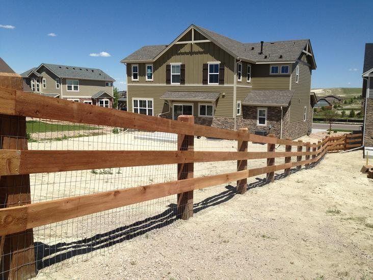 How to build a stack railed cedar split rail fence