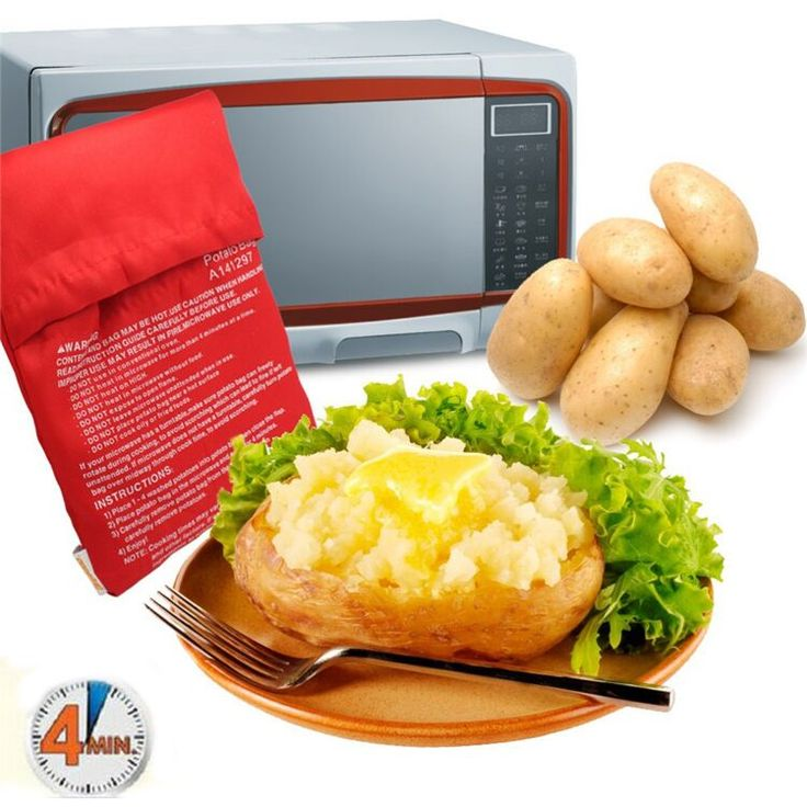 Купить товар2 шт./лот печь микроволновая печь печеный красный мешок картошки для быстрый быстрый ( кук 8 картофель сразу ) всего за 4 минут промывают картофеля в категории Подстилки и подкладки для выпечкина AliExpress.          Привет вс