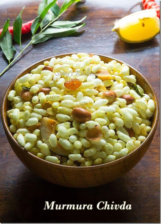 Murmura Chivda / Bhadang --- Spicy and tempting munch!! :)