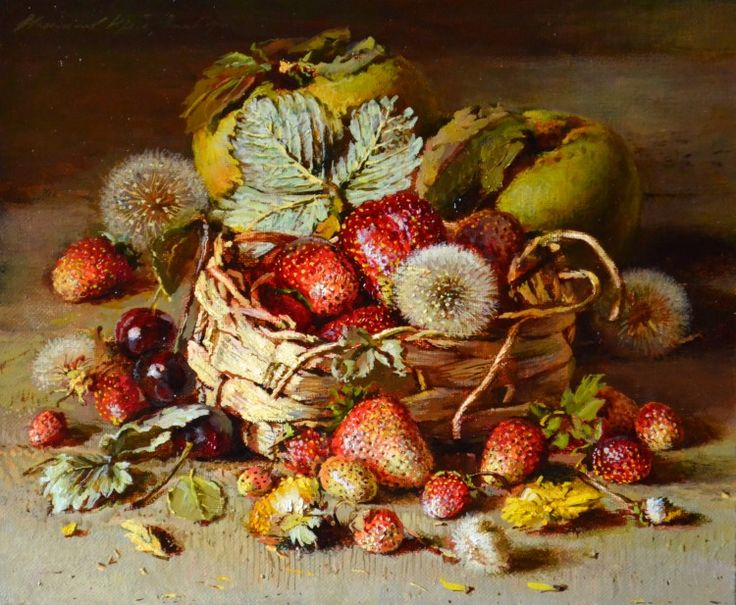 Клубника (Strawberries) ©2014 by Yuri Nikolaev