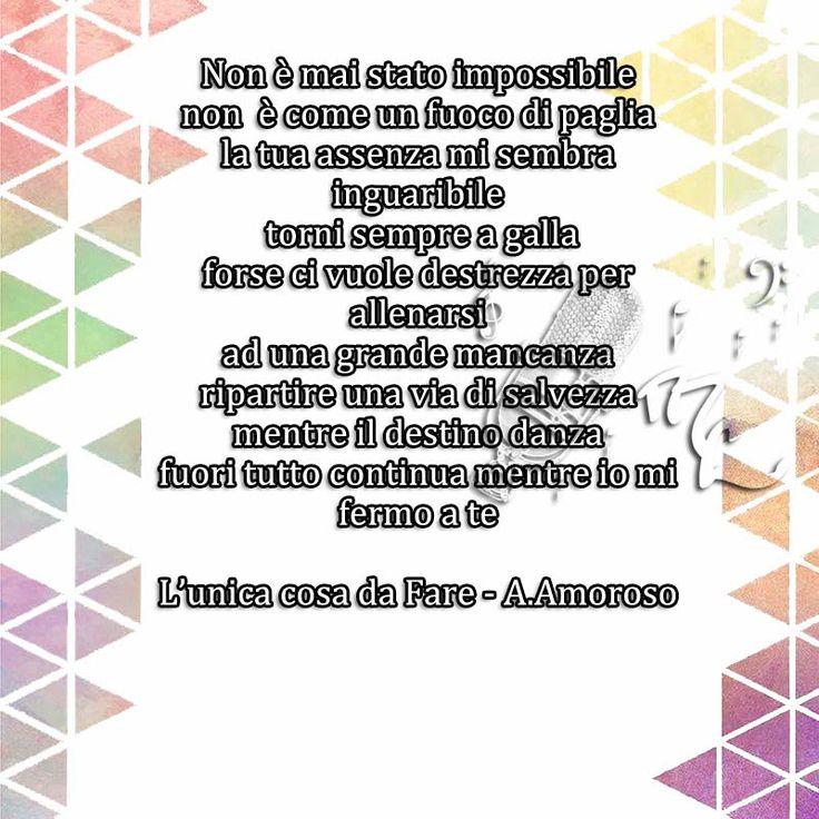 L'unica cosa da fare - Alessandra Amoroso https://www.facebook.com/musicorner/