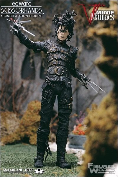 mcfarlane movie maniacs edward scissorhands Figure Johnny Depp  | eBay