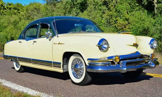 1953 Kaiser Dragon For Sale On EBay. Front 3/4 View