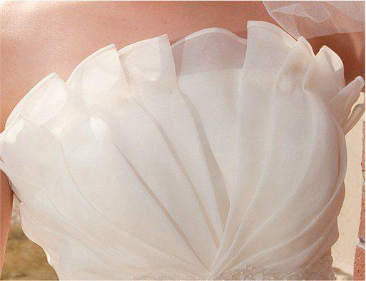Princess Dress/ Slim Waist/ Wedding Gown By Heartbunch On