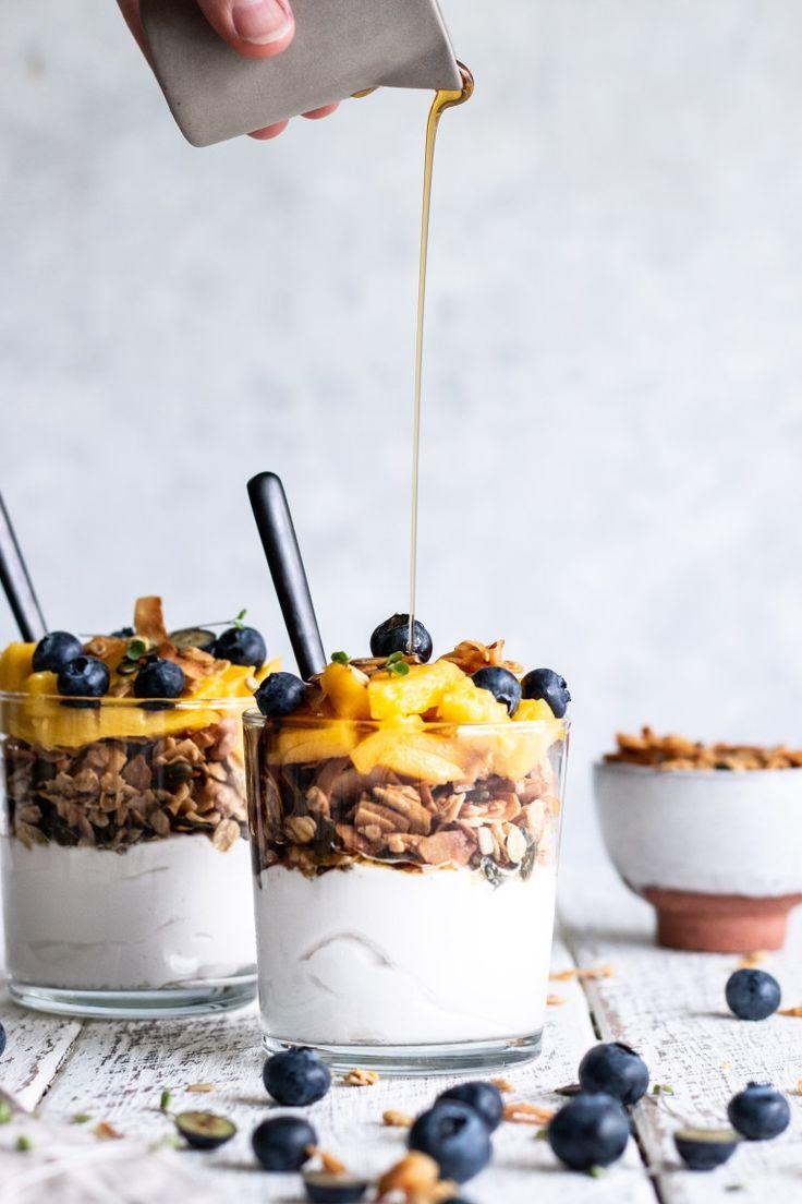 … vainilla arce amd almendra granola … # recetas
