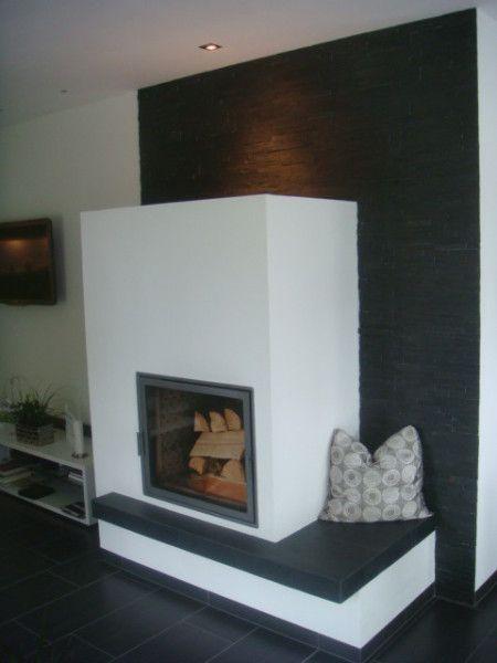 die besten 25 kamin modern ideen auf pinterest moderne kamine moderne kachel fen und. Black Bedroom Furniture Sets. Home Design Ideas