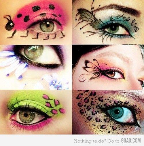77 best cool eye make-up designs images on Pinterest | Make up ...