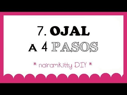 7. CURSO ONLINE APRENDE A COSER A MÁQUINA: OJAL A 4 PASOS - YouTube