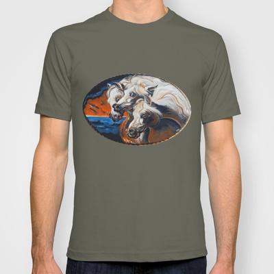 The Pharoah's Horses T-shirt by Christopher Chouinard - $18.00
