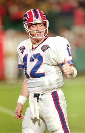 Jim Kelly - ALL-PRO QB with the Buffalo Bills. One of the Leagues BEST QB's EVER.