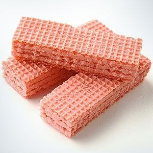 Pink Wafers.