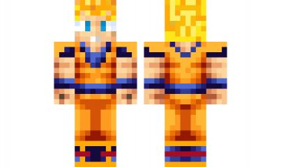 minecraft skin goku-ssj1 Find it with our new Android ...