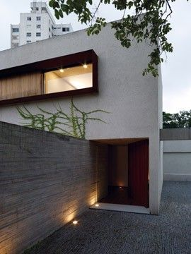 Marcio Kogan - Studio mk27  Chimney House  2010  Sao Paulo, Brazil