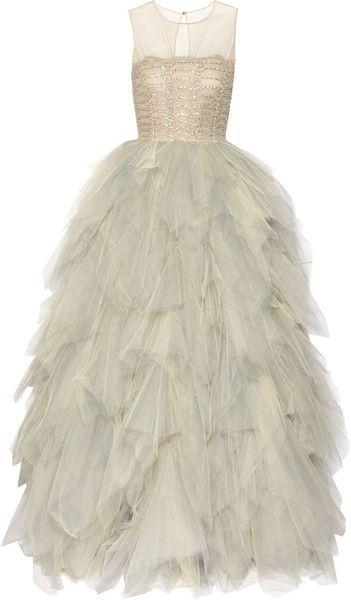 Tulle Gown / Oscar de la renta