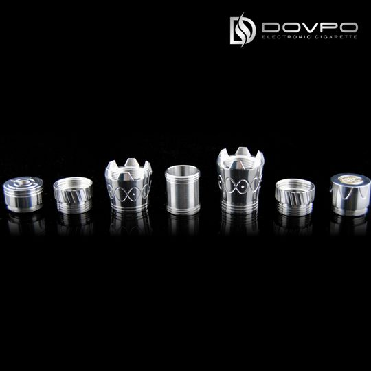 our web:http://www.dovpoecig.com/  The DOVPO E-HERO mechanical MOD e-cigarette system can build in the way you want it! It has seven parts engineered for extraordinary guise and high flexibility for DIY.