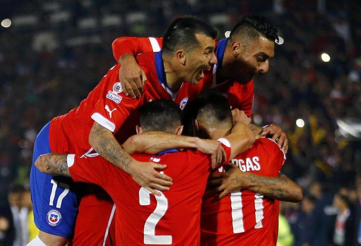 Кубок Америки стартовал с победы чилийцев