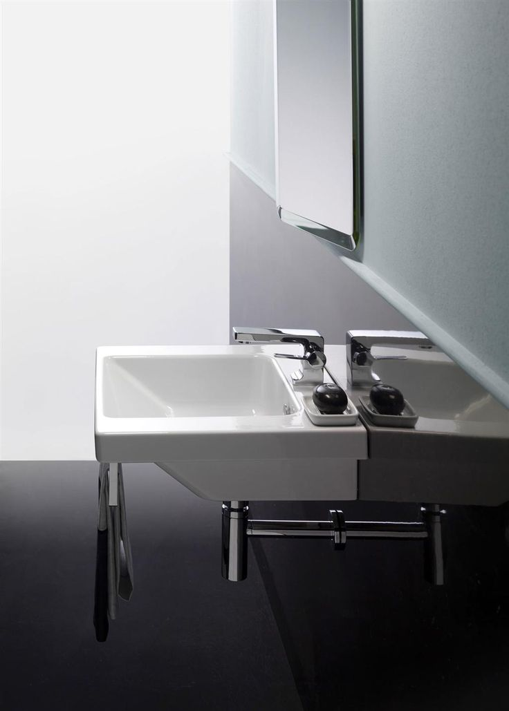 GSI ceramic | Norm, washbasin 55x47 - 42x34 | Small Bathroom Ideas ...