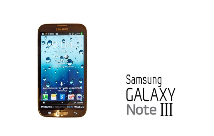 Rumors about specs of Galaxy Note 3